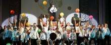 The international premiere of childrens musical «NucKids»